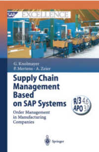 Books Kinokuniya: Supply Chain Management Based on SAP