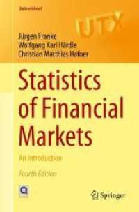 Books Kinokuniya: Statistics of Financial Markets : An