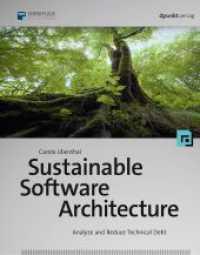 Books Kinokuniya: Sustainable Software Architecture