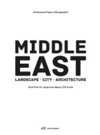 Link to an enlarged image of Middle East : Territory, City, Architecture. Hrsg.: ETH Zürich (Architectural Papers Vol.8) (2013. 180 S. 106 farb. u. 134 schw.-w. Abb. 22 cm)