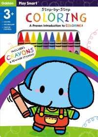 Link to an enlarged image of Play Smart StepΓÇæbyΓÇæStep Coloring Age 3+: An AtΓÇæhome Proven Introduction