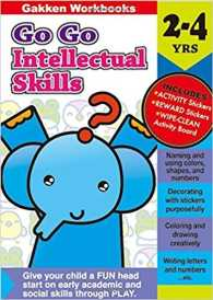 Link to an enlarged image of Go Go Series Intellectual Skills 2 - 4 years (Gakken Workbooks)