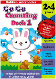 Link to an enlarged image of COUNTING BOOK 1(2-4 YEARS) :GO GO SERIES