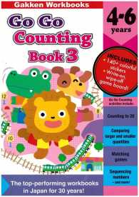 Link to an enlarged image of COUNTING BOOK 3 (4-6 YEARS) :GO GO SERIES