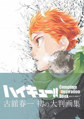 Link to an enlarged 2nd image of Haikyu! Complete Illustration book / ハイキュー!! Complete Illustration book 終わりと始まり (愛蔵版コミックス)