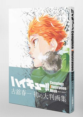 Link to an enlarged 3rd image of Haikyu! Complete Illustration book / ハイキュー!! Complete Illustration book 終わりと始まり (愛蔵版コミックス)
