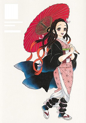 "Link to an enlarged 2nd image of ""Demon Slayer -Kimetsu no Yaiba-"" Gotoge Koyoharu Art Book: Ikuseiso (Japanese Book)/ 『鬼滅の刃』吾峠呼世晴画集−幾星霜− (愛蔵版コミックス)"