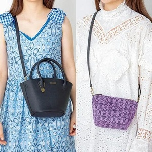Link to an enlarged 5th image of ANNA SUI TWIN SHOULDER BAG BOOK ([バラエティ])