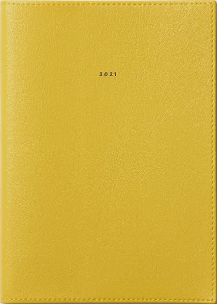 Link to an enlarged image of 245 フェルテS3 高橋手帳 2021年版1月始まり マスタ−ドイエロ−