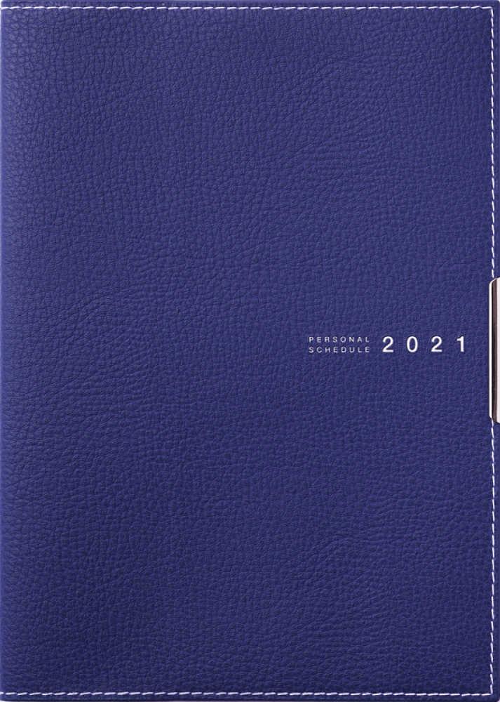 Link to an enlarged image of 501 ディアクレ−ルラプロ1 月曜始まり 高橋手帳 2021年版1月始まり 紺