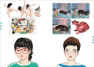 Link to an enlarged 9th image of SISTERHOOD LITTLE THUNDER ART BOOK