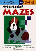 Link to an enlarged image of My First Book of Mazes