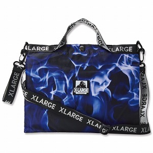 Link to an enlarged 3rd image of XLARGE 3WAY BLUE FIRE BAG BOOK ([バラエティ])