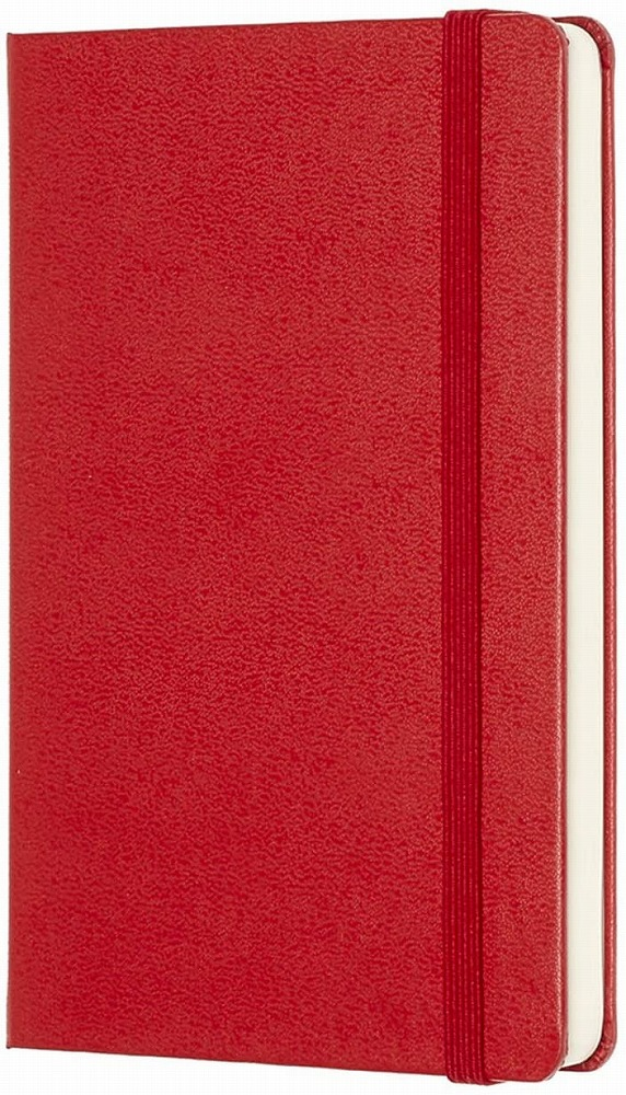 Link to an enlarged 2nd image of Moleskine Red Plain Notebook (NTB)