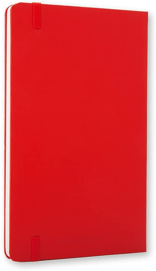 Link to an enlarged 3rd image of Moleskine Red Plain Notebook (NTB)