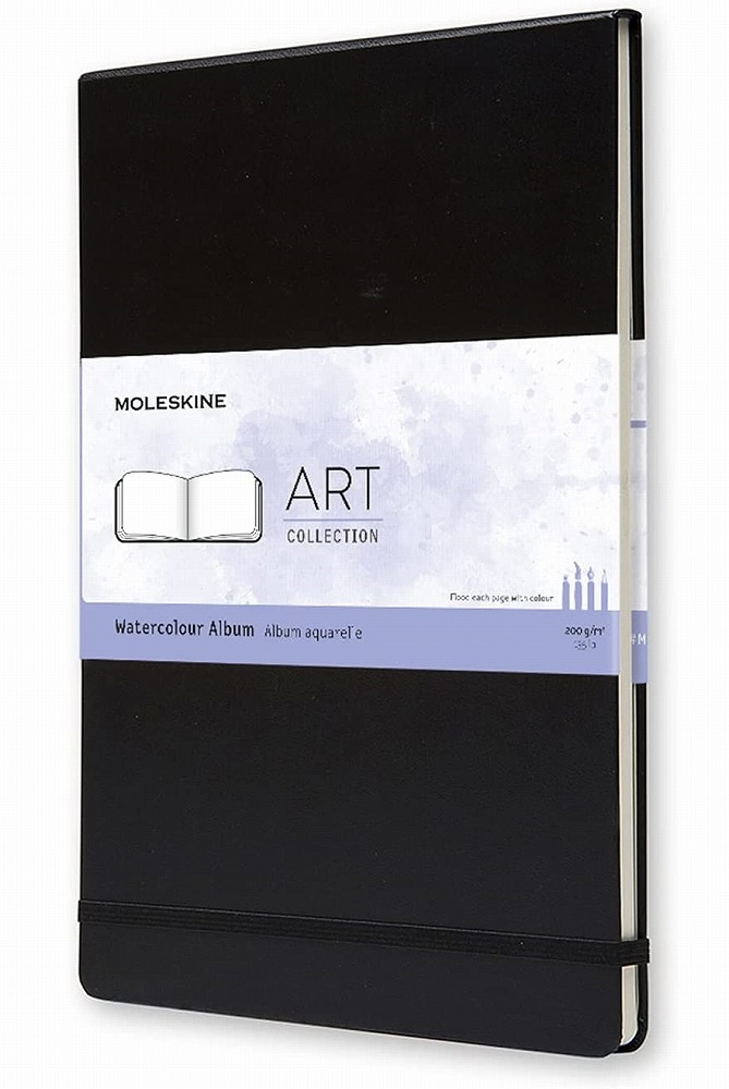 Link to an enlarged image of Moleskine Watercolor Album A4 (NTB)