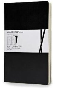 Link to an enlarged image of Moleskine Volant Large Ruled Black (NTB)
