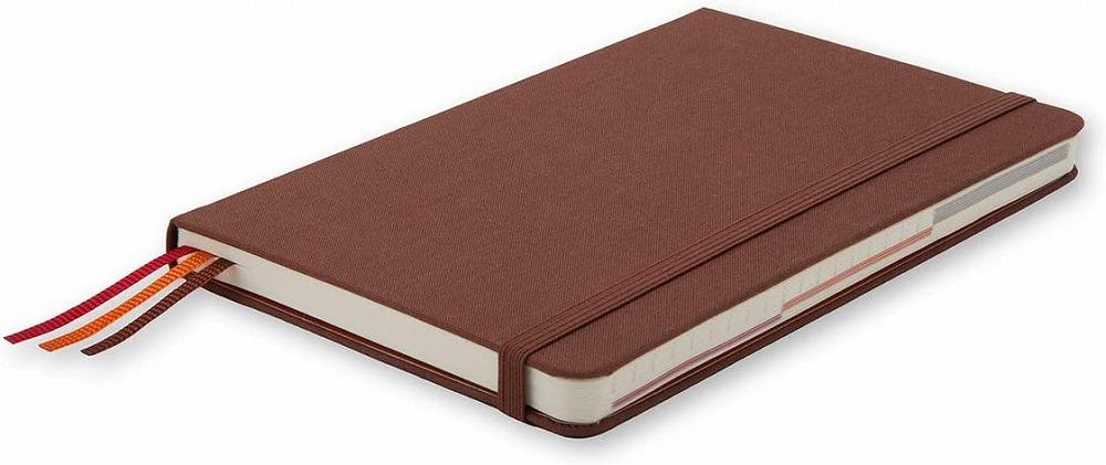 Link to an enlarged 3rd image of Moleskine Voyageur Traveller's Notebook, Nutmeg Brown (NTB)