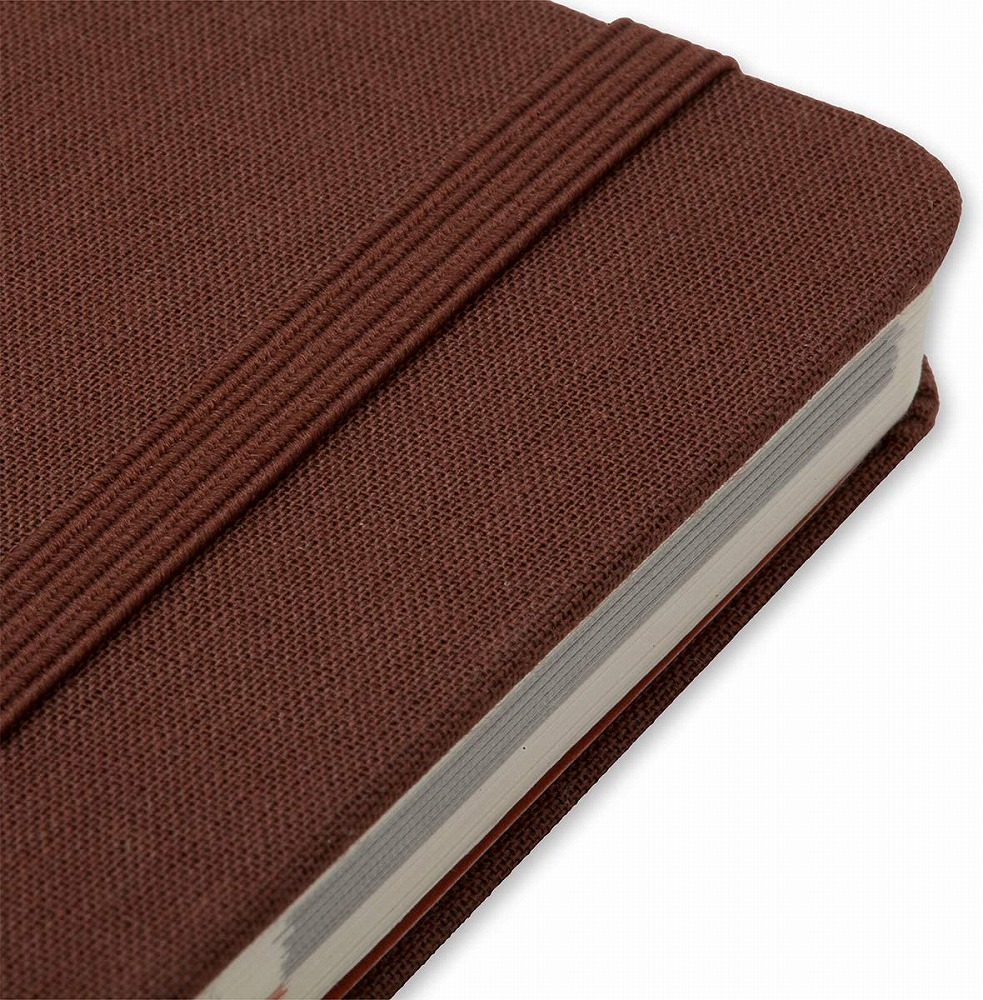 Link to an enlarged 4th image of Moleskine Voyageur Traveller's Notebook, Nutmeg Brown (NTB)