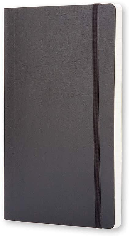 Link to an enlarged 2nd image of Moleskine Squared Notebook Large - Soft cover (NTB)