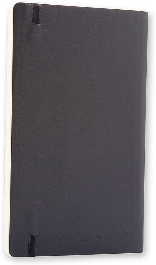 Link to an enlarged 3rd image of Moleskine Squared Notebook Large - Soft cover (NTB)