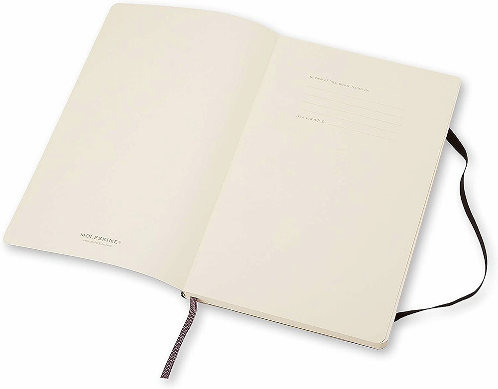 Link to an enlarged 4th image of Moleskine Plain Notebook (NTB)