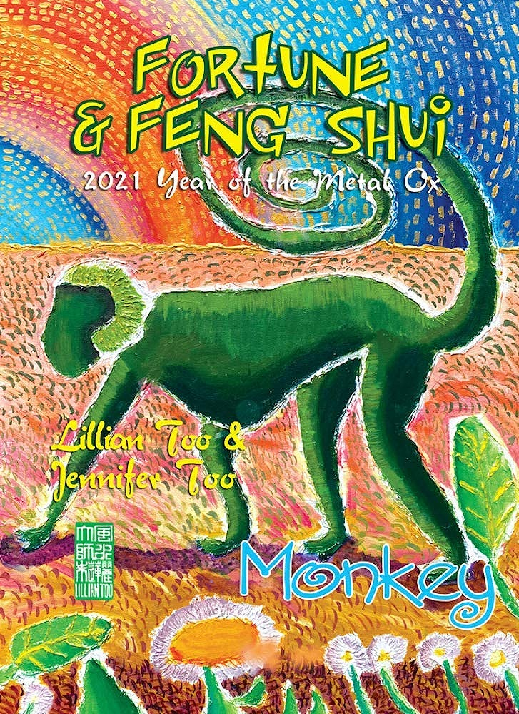 Link to an enlarged image of Fortune & Feng Shui 2021 : Monkey