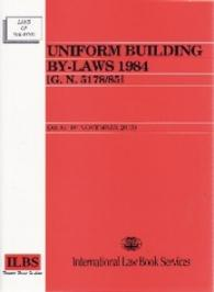 Link to an enlarged image of UNIFORM BUILDING BY LAWS 1984