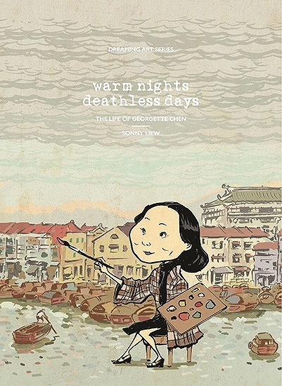 Link to an enlarged image of Warm Night, Deathless Days : The Life of Georgette Chen