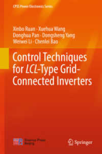 Books Kinokuniya: Control Techniques for LCL-Type Grid