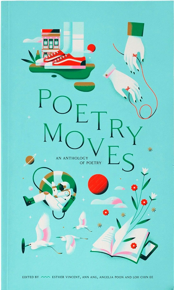 Link to an enlarged image of Poetry Moves: An Anthology Of Poetry
