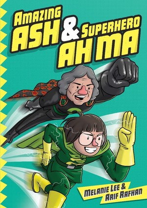 image of Amazing Ash & Superhero Ah Ma