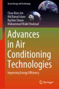Link to an enlarged image of Advances in Air Conditioning Technologies : Improving Energy Efficiency (Green Energy and Technology)