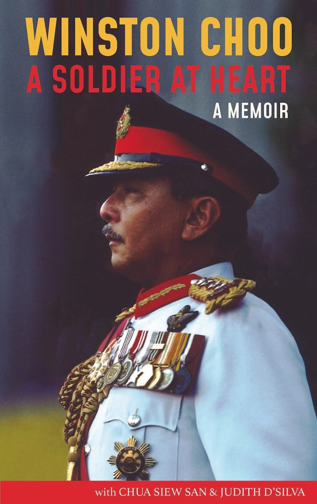 Link to an enlarged image of Winston Choo: A Soldier at Heart - A memoir