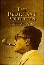 Link to an enlarged image of Reluctant Politician : Tun Dr Ismail and His Time -- Paperback