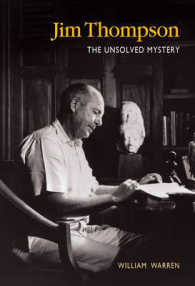 Link to an enlarged image of Jim Thompson : The Unsolved Mystery -- Paperback / softback