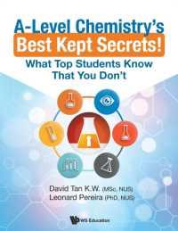 Books Kinokuniya: A-Level Chemistry's Best Kept Secrets! : What Top