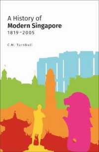 Link to an enlarged image of History of Modern Singapore, 1819-2005 -- Paperback / softback