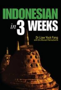 Link to an enlarged image of Indonesian In 3 Weeks