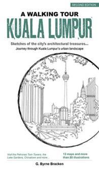 Link to an enlarged image of Walking Tour Kuala Lumpur -- Paperback / softback