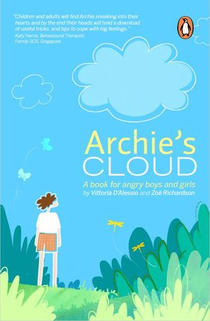 Link to an enlarged image of Archie's Cloud: A book for angry little boys and girls