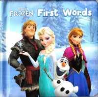 Disney Padded Board Book : Disney Frozen First Word 9789888155002