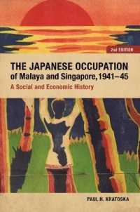 Link to an enlarged image of The Japanese Occupation of Malaya and Singapore, 1941-45 : A Social and Economic History (2nd)