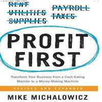 Link to an enlarged image of Profit First (7-Volume Set) : Transform Your Business from a Cash-eating Monster to a Money-making Machine; Library Edition (Unabridged)
