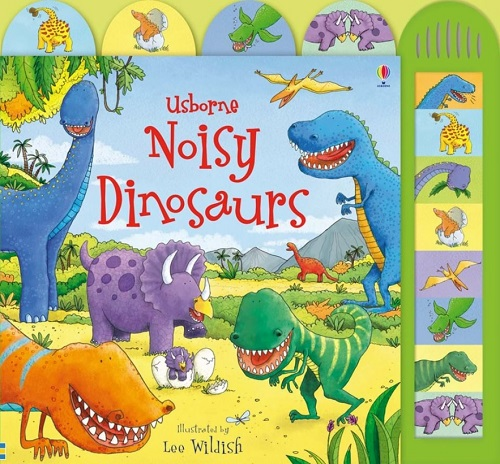 Link to an enlarged image of Noisy Dinosaurs (Noisy Books)