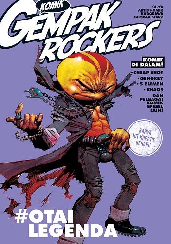 Link to an enlarged image of Komik Gempak 09: Rockers: #OtaiLegenda