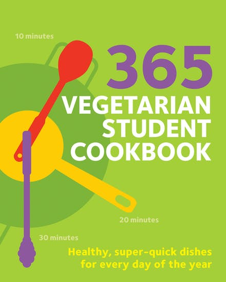 Link to an enlarged image of 365 Vegetarian College Cookbook (Hamlyn Quick Cooks)