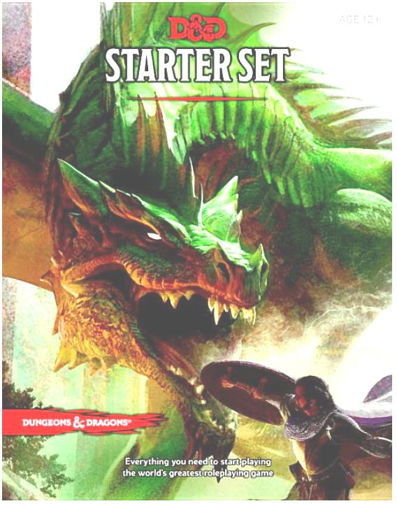 Link to an enlarged image of Dungeons & Dragons Starter Set : Fantasy Roleplaying Fundamentals (Dungeons & Dragons) (BRDGM)