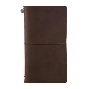 Link to an enlarged image of TRAVELER'S notebook 棕/Brown (Regular Size)