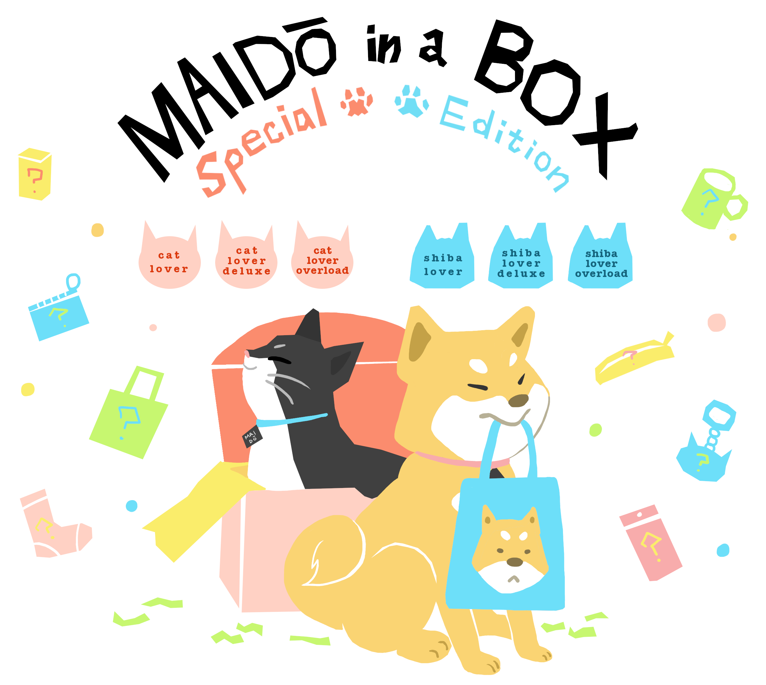 Link to an enlarged 3rd image of Shiba Lover Box - Maido in a Box Special Edition